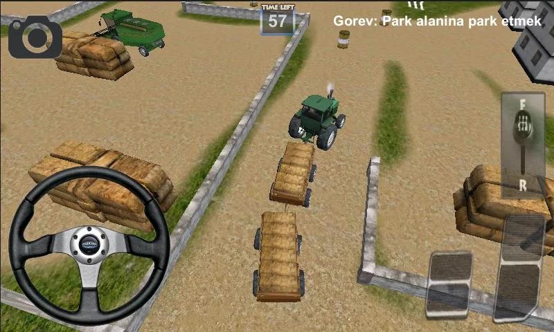 Android Traktör Sürme Oyunu 3D Apk resimi 3