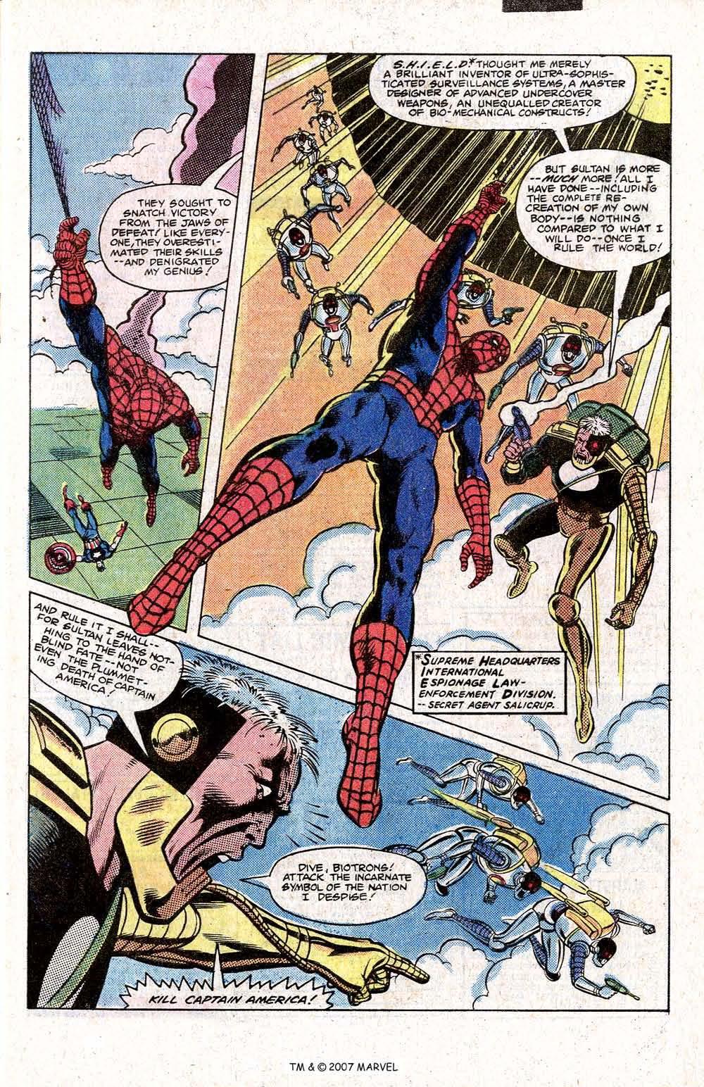 Captain America (1968) Issue #266 #181 - English 5