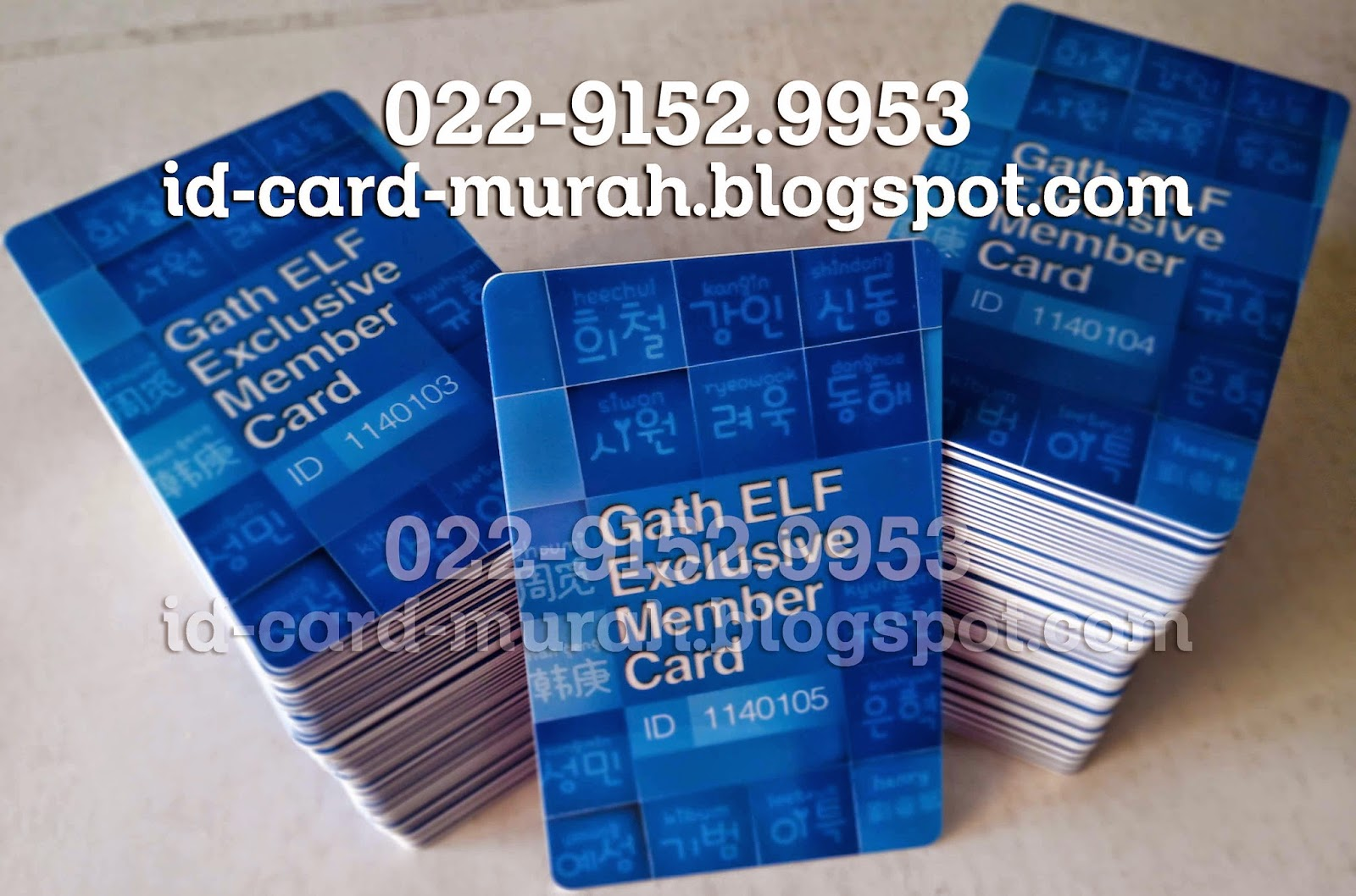 gath ELF exclusive member card super junior kpop