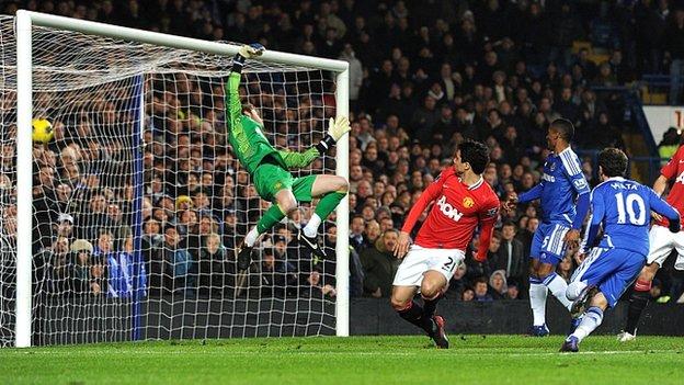 Prediksi Skor Chelsea vs Manchester United MU, 28 Okt 2012