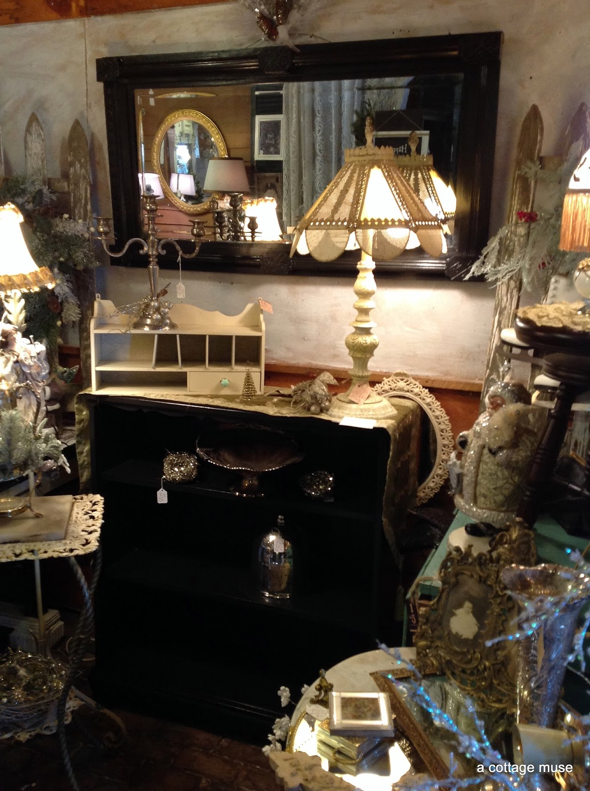 A Cottage Muse Vintage Holiday Open House 2014