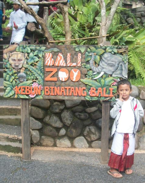 Motivasi perjalanan wisata ke Bali Zoo Park (Kebun Binatang Bali)