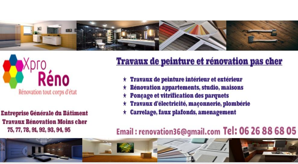 Travaux Peinture Paris (entreprise) | entreprise de travaux peinture paris