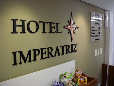 Fachadas, Letreiros em Letras Caixa em Acrílico Hotel Imperatriz São Paulo-sp