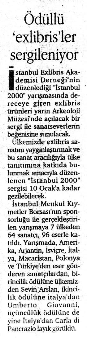 Exlibris İstanbul 2000