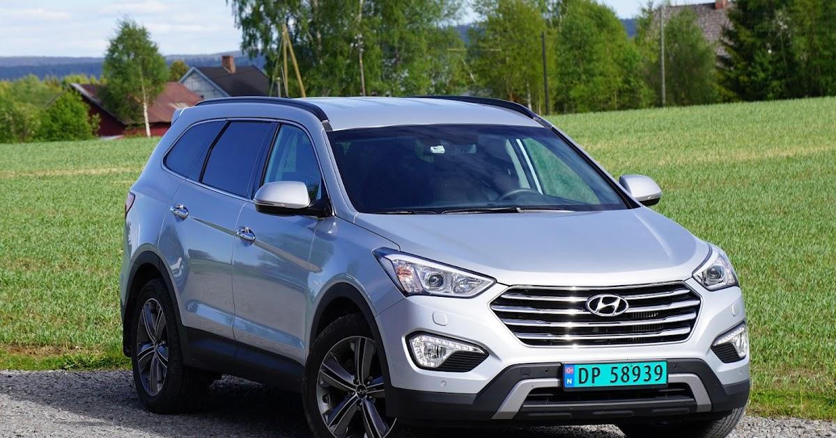 Bil Og Motorbloggen Test Hyundai Grand Santa Fe Varebil
