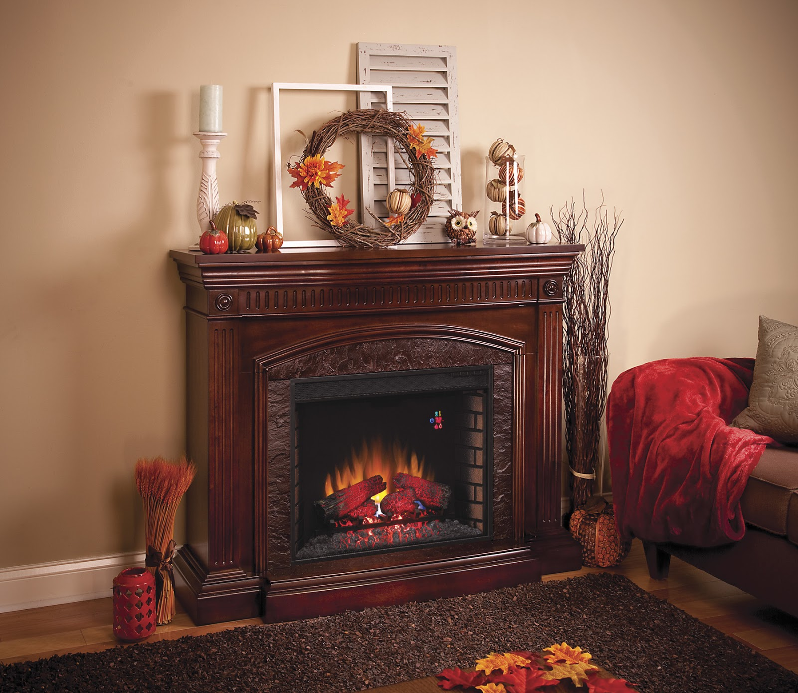 TwinStar International: Autumn Mantel Decorating Tips