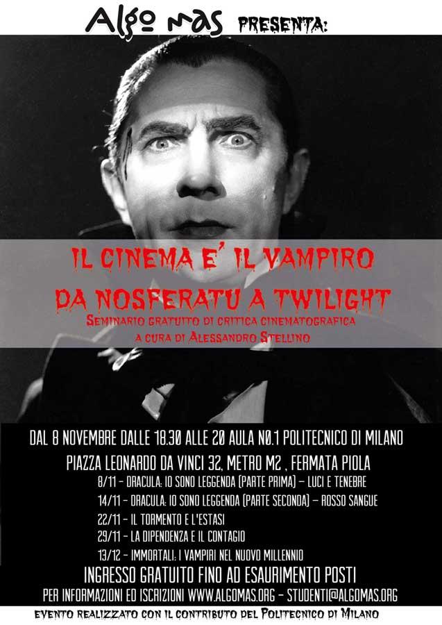 Il Cinema è il Vampiro, locandina