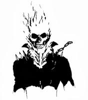 Ghostrider / vektoros pólóminta / RockPont