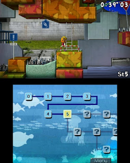 Umihara Kawase 3ds gameplay