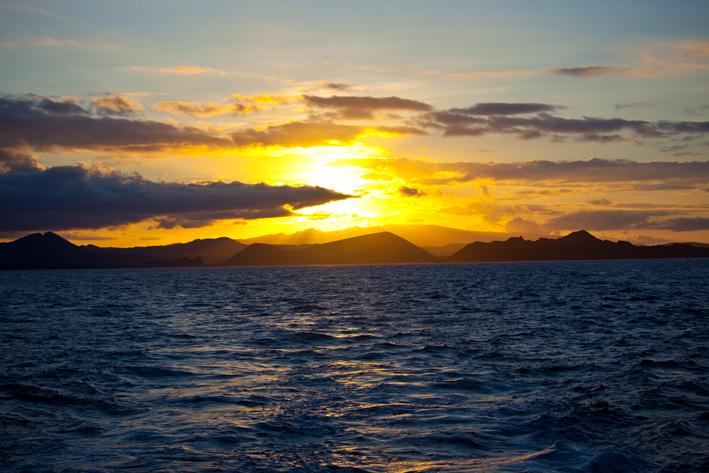 San Cristóbel sunset