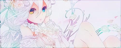 banner anime girl