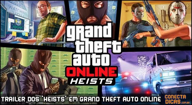 Heists em GTA V - Trailer