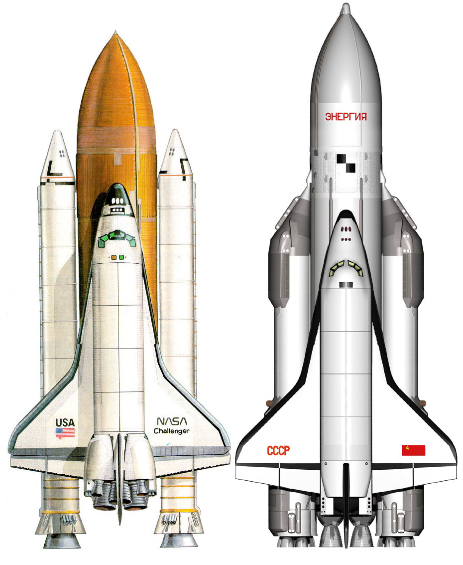 space shuttle names