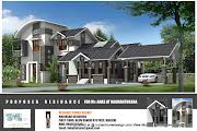 Beautiful Kerala house pictures in kerala 2222 sqft Floor plan