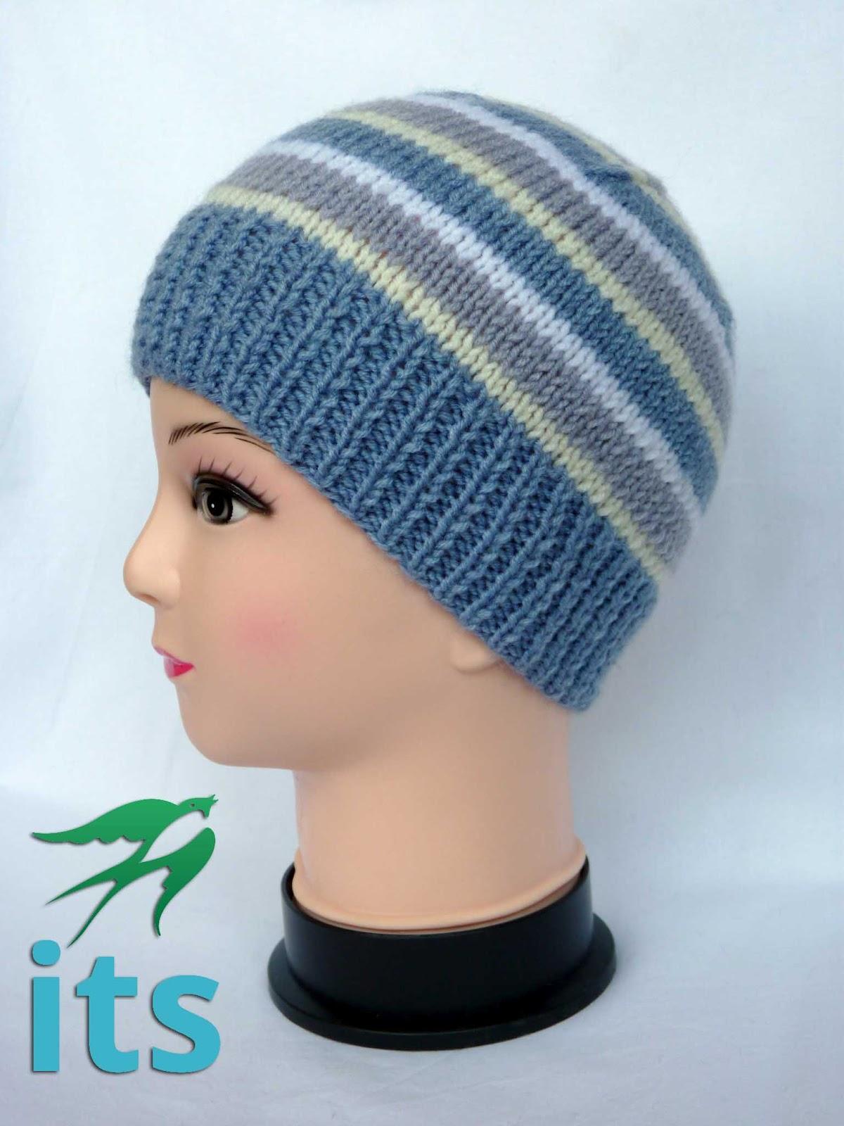 Вязание для детей шапочек для мальчиков спицами