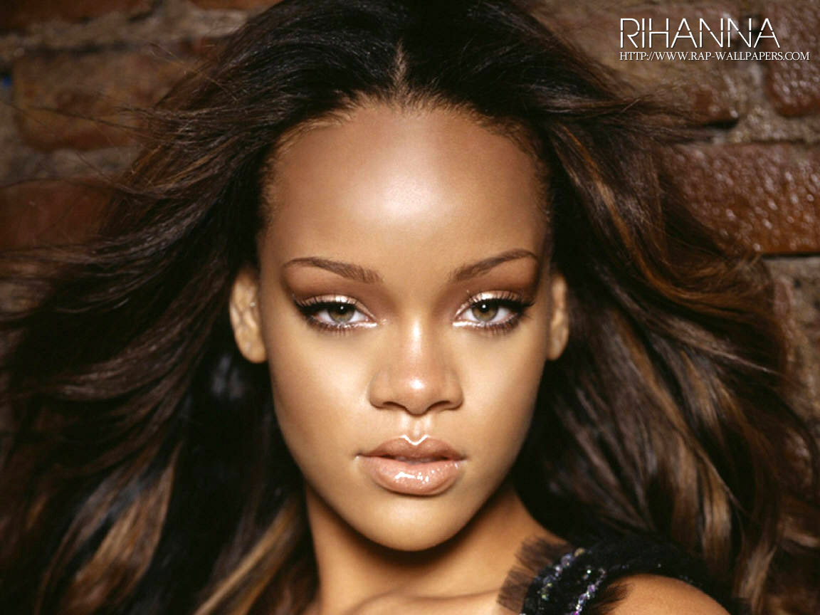 Rihanna Big Forehead