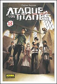 Ataque a los Titanes #13