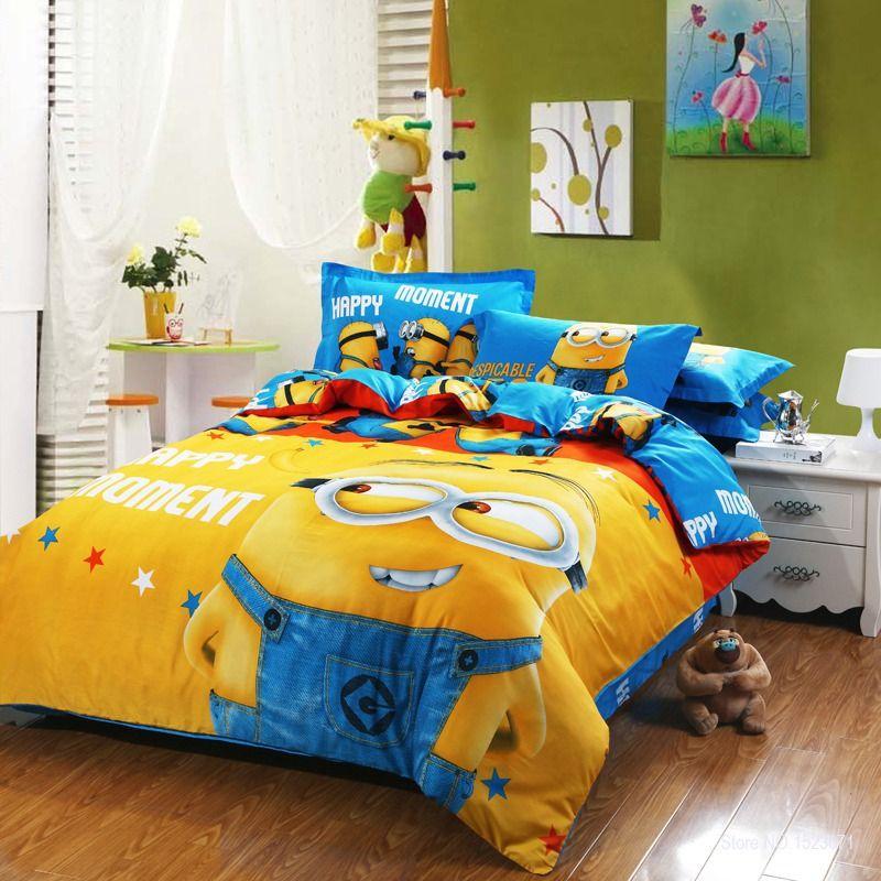 Dormitorios tema minions dormitorios colores y estilos for Como decorar un cuarto infantil