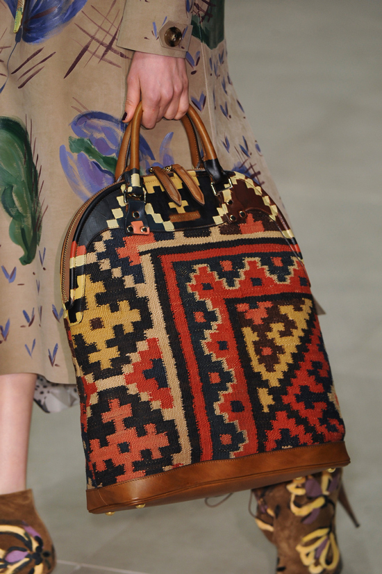 Burberry Prorsum Bloomsbury bag Fall Winter 2014