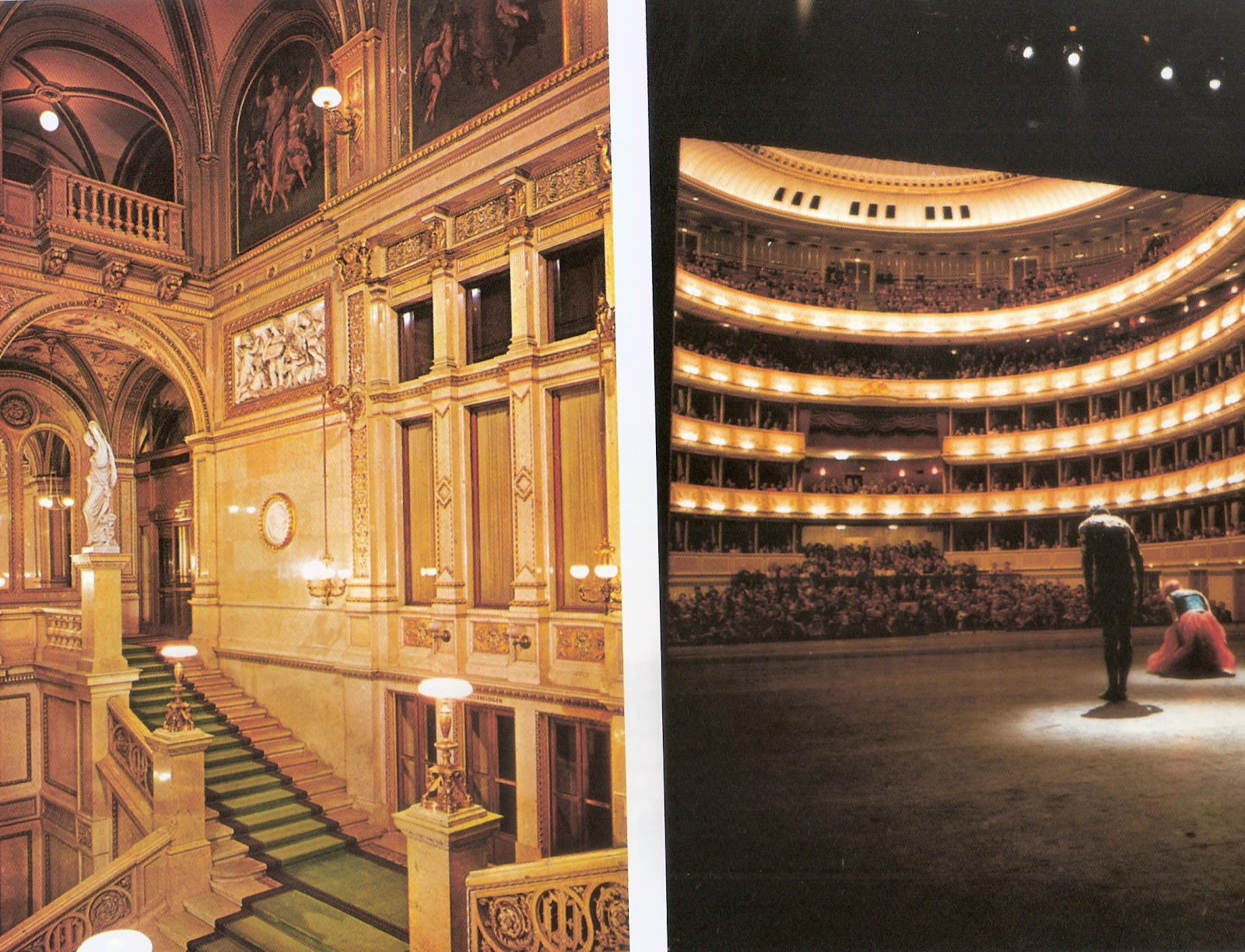 Inside Opera House,Vienna