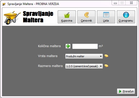 Program Spravljanje Maltera