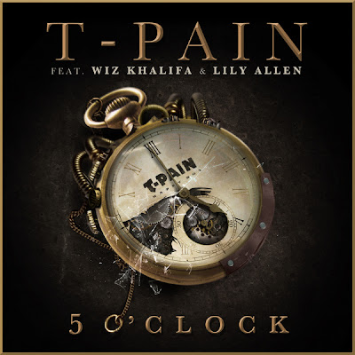 Photo T-Pain - 5 O'Clock (feat. Wiz Khalifa & Lily Allen) Picture & Image