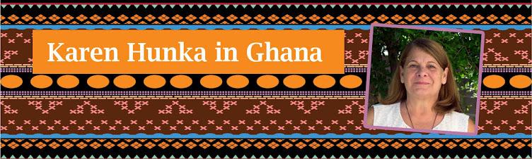 Karen Hunka In Ghana