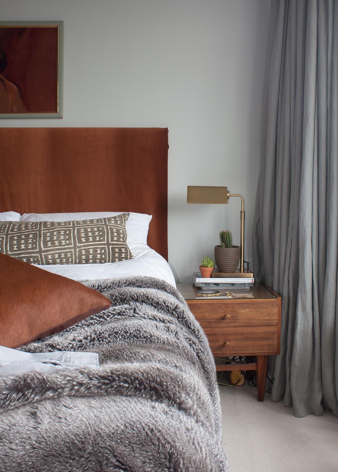 mixing brown and grey interior design