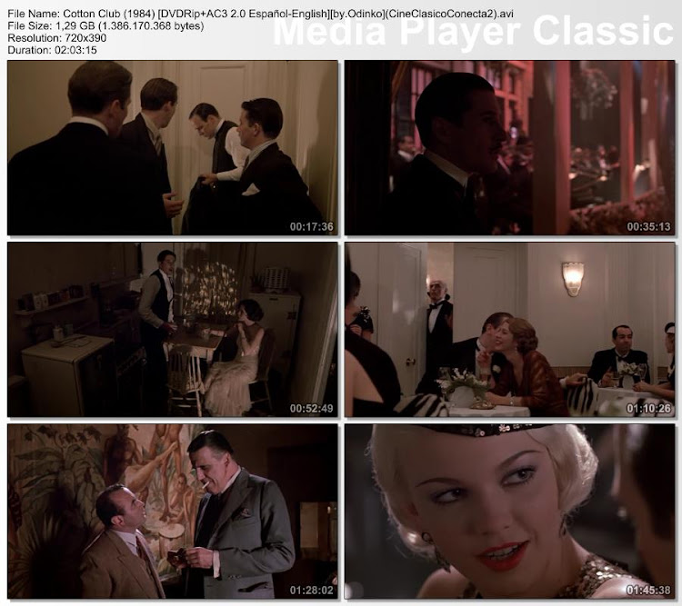 Cotton Club (1984) | Secuencias de la película
