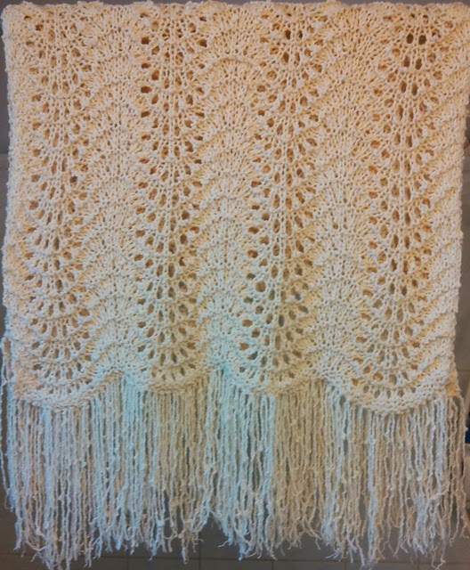 The Cultured Purl: Prayer shawl - FINISHED!