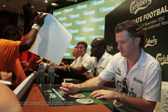 epl bpl legends carlsberg ultimate football retreat malaysia