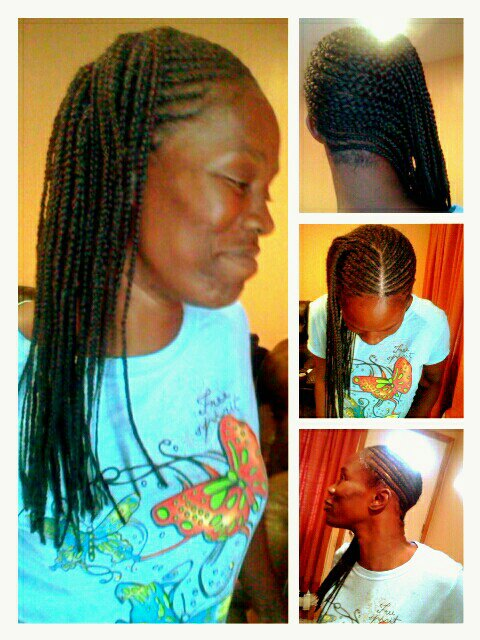 Side braids or Mohawk braids | hair and more topics