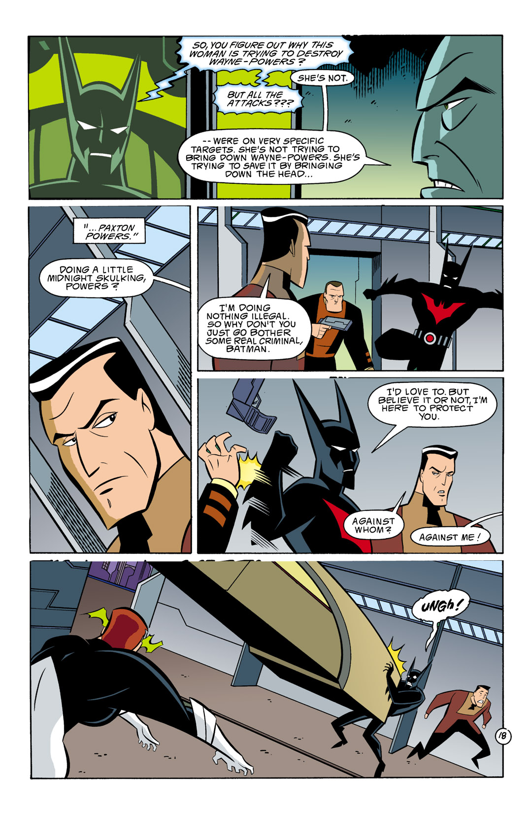 Batman Beyond [II] Issue #8 #8 - English 19