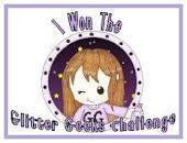 I won the Glitter Geeks Challenge