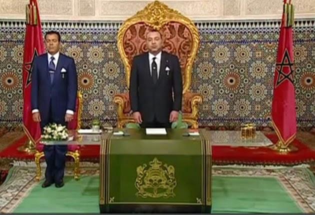 sm le roi adresse un discours la nation l occasion du 39 anniversaire de la marche verte. Black Bedroom Furniture Sets. Home Design Ideas