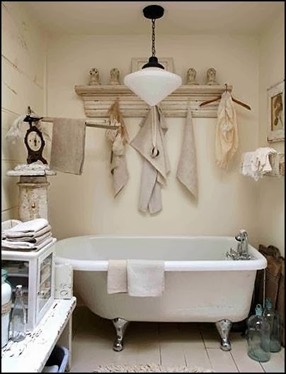 Primitive Country Bathroom Decorating Ideas