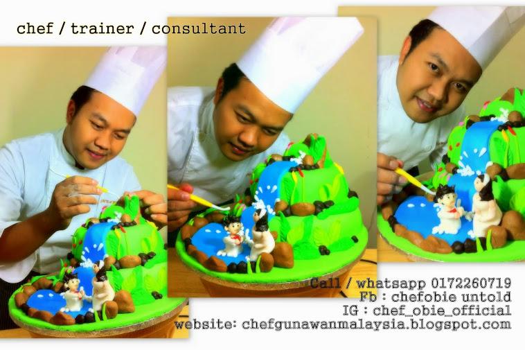 chef gunawan a.k.a chef obie 1001 info dan resepi popular