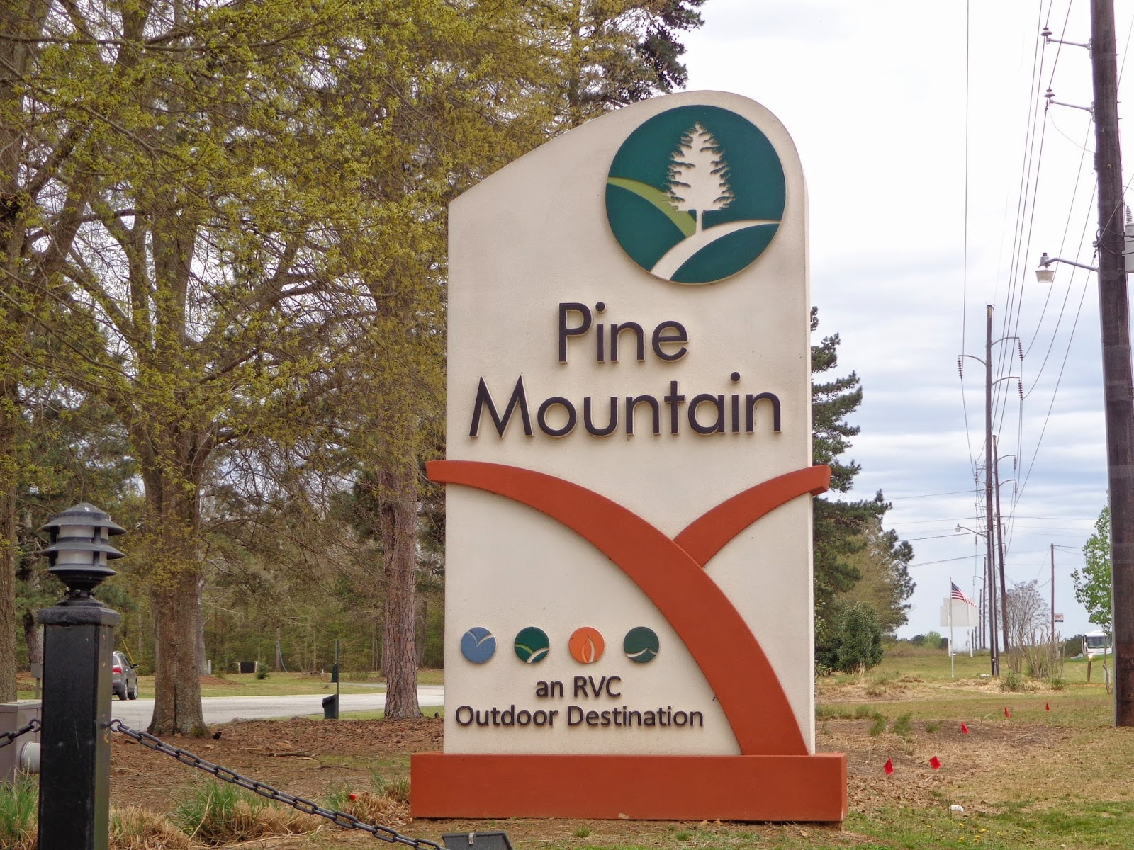 yes, we are on the road again!: pine mountain, ga and the pine
