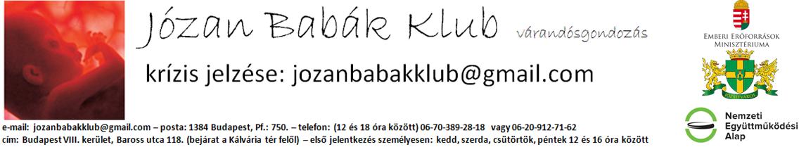 Józan Babák Klub Alternatív Terhesgondozás