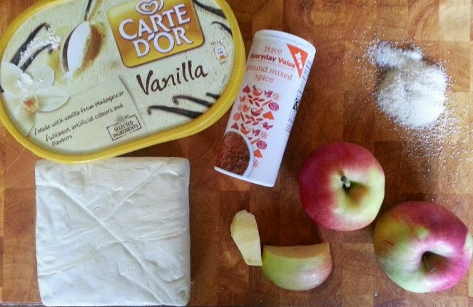 How To Make Apple Pice Cream ingredients
