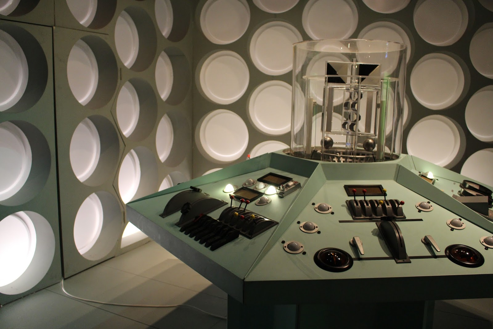 Replica of the First Doctor's TARDIS console