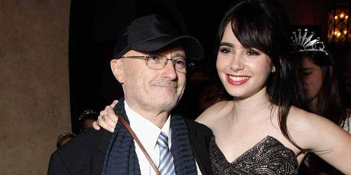 Lily Collins, 24, is an actress and the daughter of Phil Collins
