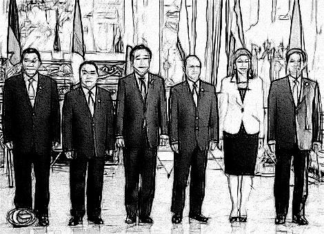 Trưởng đoàn các nước tham dự Hội nghị