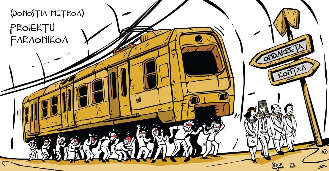 Bideoa:Impacto del Metro en los autobuses urbanos