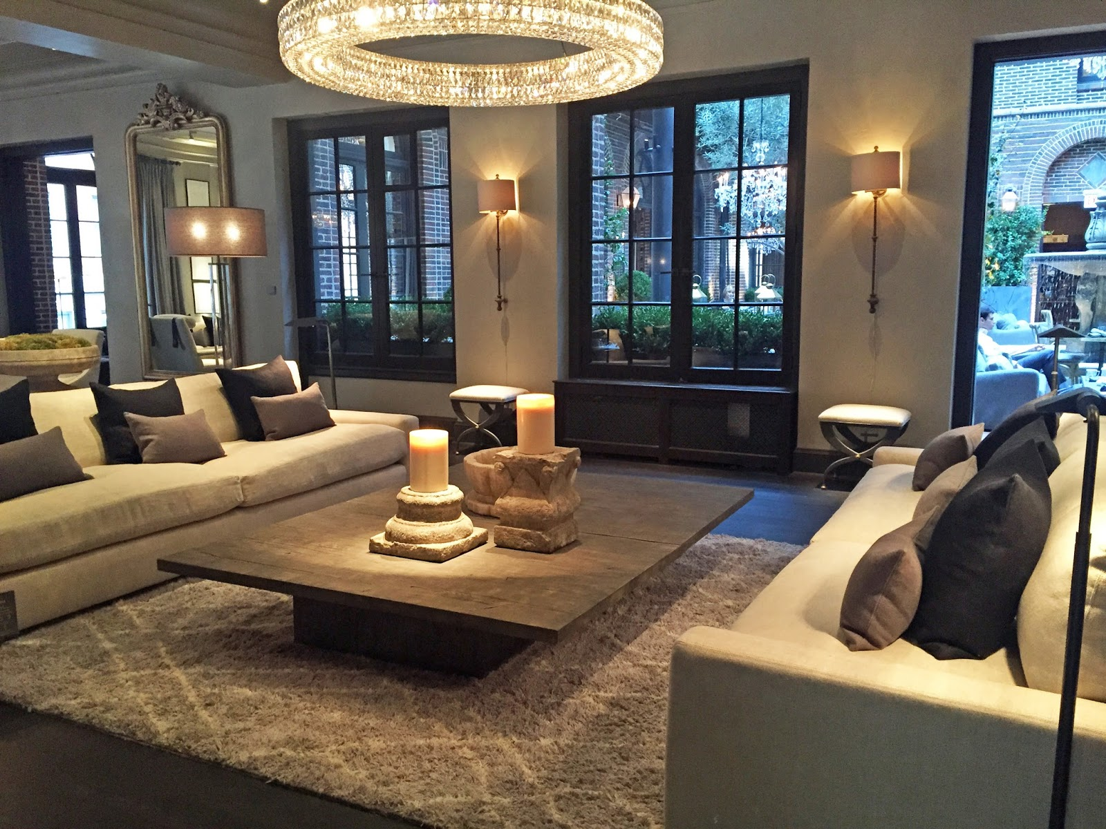 The Fabulous Restoration Hardware Store In Chicago