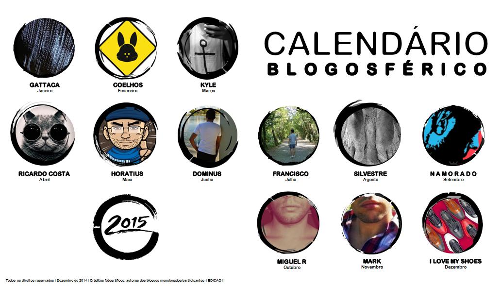 Calendário Blogosférico 2015