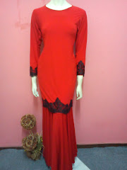 Kurung Mermaid Lace