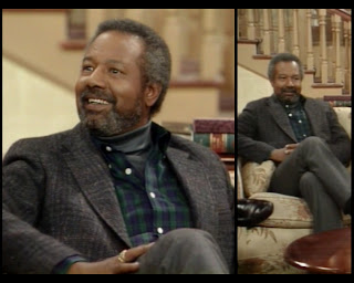 Cosby Show Huxtable fashion blog 80s sitcom Jason Bernard Sergeant Major Boswell Stokes