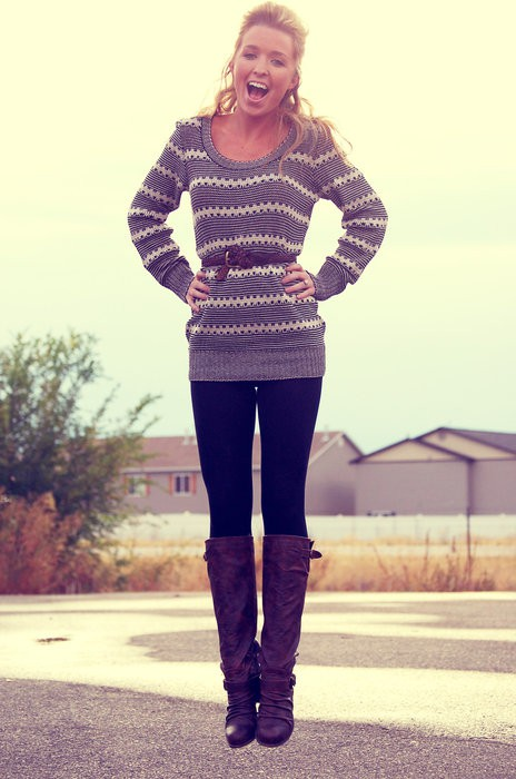 gothicphotos.ga: long sweater for leggings. From The Community. leggings or boots. ♥ This long sweater featuring Fantastic Zone Womens Casual Long Sleeve Tunic Tops Round Neck Tunic Shirts With Buttons. by Fantastic Zone. $ - $ $ 13 $ .